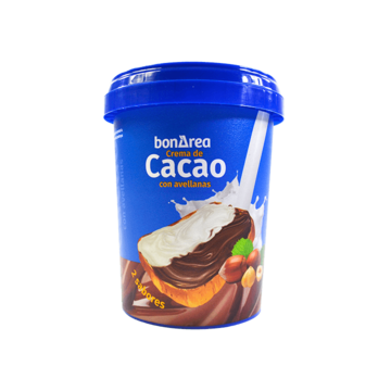 Crema de cacao 2 sabores...