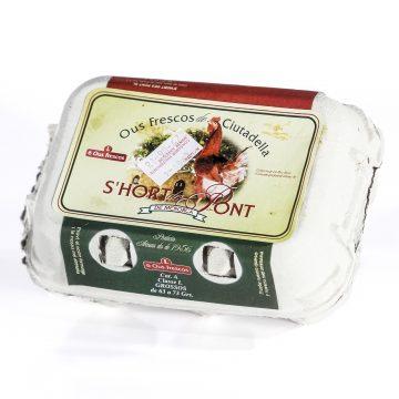 Huevos Hort d'es Pont (6 uds)