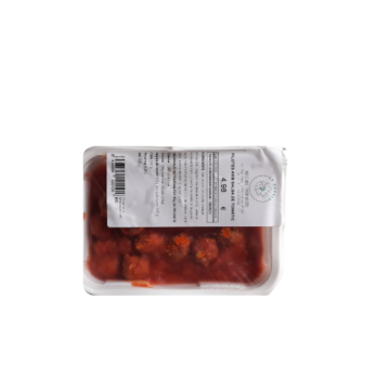 Albondigas con salsa de...