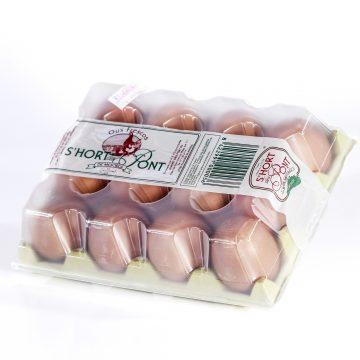 Huevos Hort d'es Pont (12 uds)