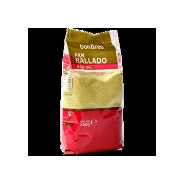Pan rallado natural (250gr)