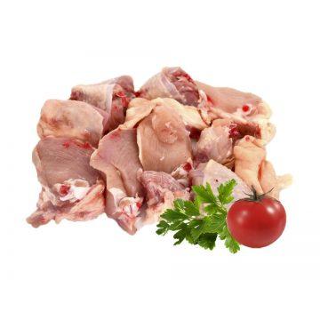 Pollo troceado de Menorca
